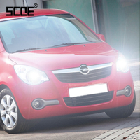 Voor Agila Een B Astra F Vivaro SCOE 2 STKS Auto High Beam Super Halogeenlamp Koplamp Auto Styling warm wit