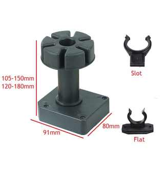 4Pcs/Lot Premintehdw Adjustable Plastic Cabinet Leg Kitchen Leveler Leveling Feet Plinth Kitchen Toekick Slot Flat clip - DISCOUNT ITEM  0% OFF All Category