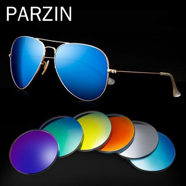 9b3c7f9cab9 Parzin 1.61 Colorful Polarized lenses Myopia RX Sunglasses Anti-UV Optical  Lens Prescription Sun Glasses -0.25---8.00 L09