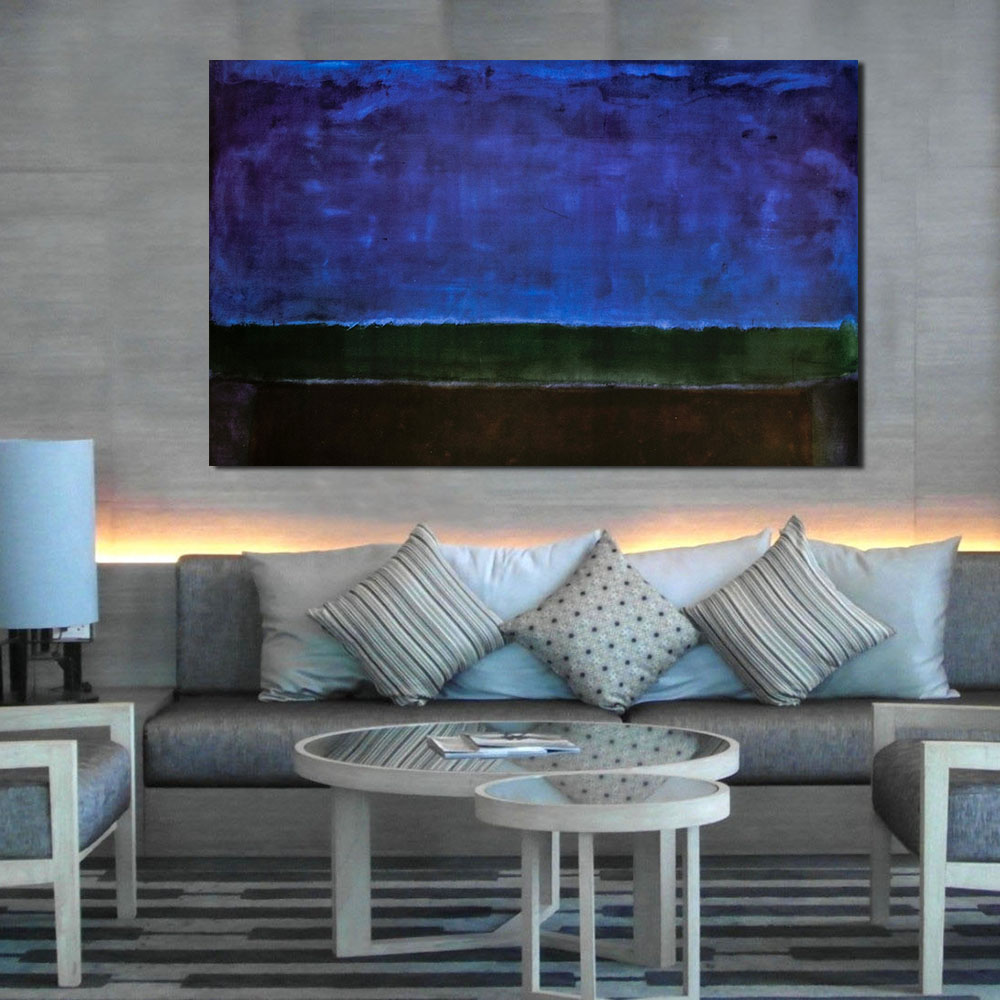 wang art mark rothko classical oil painting living room modern wall art picture home decor canvas print no frame