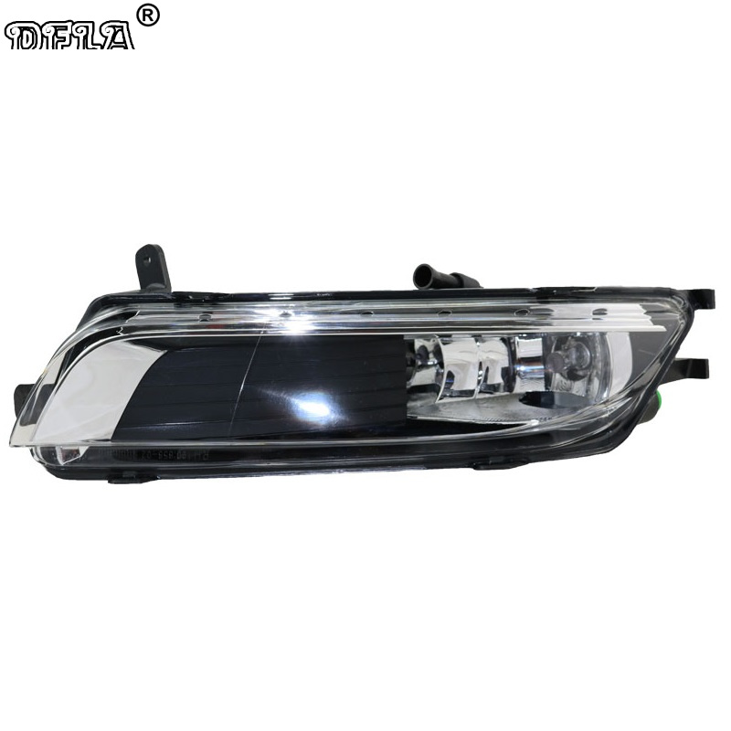 Right Side Car Light For VW Passat CC 2012 2013 2014 2015 2016 2017 Car-Styling Front Halogen Fog Light Fog Lamp right side housing clear front fog light lamp cover for bmw x6 e71 e72 oem 63177187630 car styling