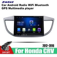 ZaiXi Android Car 2 din multimedia GPS Navigation For Honda CRV 2012~2016 vedio stereo Radio audio wifi video map video 8 core android 8 1 car stereo dvd for honda civic hatchback 2013 wifi 2 din rds gps navigation bluetooth audio video multimedia
