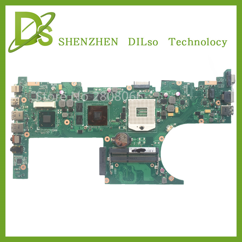 SHUOHU U32VM For ASUS U32VM laptop motherboard U32VM mainboard REV2.0  with Graphics card 100% tested brand new pbl80 la 7441p rev 2 0 mainboard for asus k93sv x93sv x93s laptop motherboard with nvidia gt540m n12p gs a1 video card