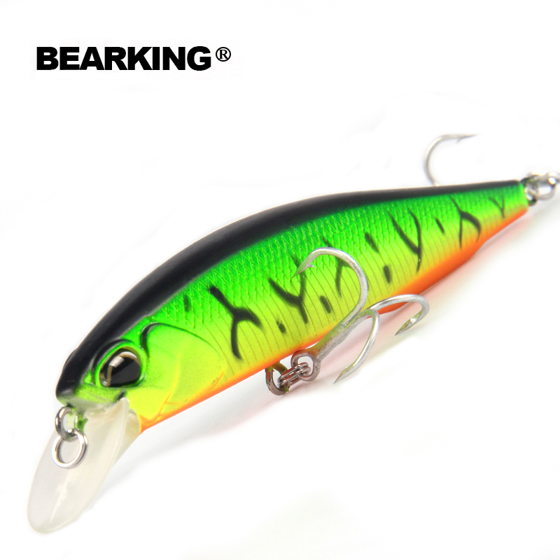 Bearking Bk17-100SP suspending Fishing Lure 1PC 100mm 15g Plastic Hard Fishing Lure Wobblers Long Casting Baits with Box Packing
