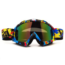 QL061C Motocross Goggles Cross Country Skis Snowboard ATV Mask Oculos Gafas Motocross Motorcycle Helmet MX Goggles Spectacles