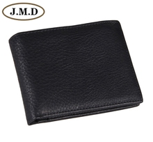 8054C Hot Sell  Fashion Genuine Leather Black Mens Wallet Clutch Bag