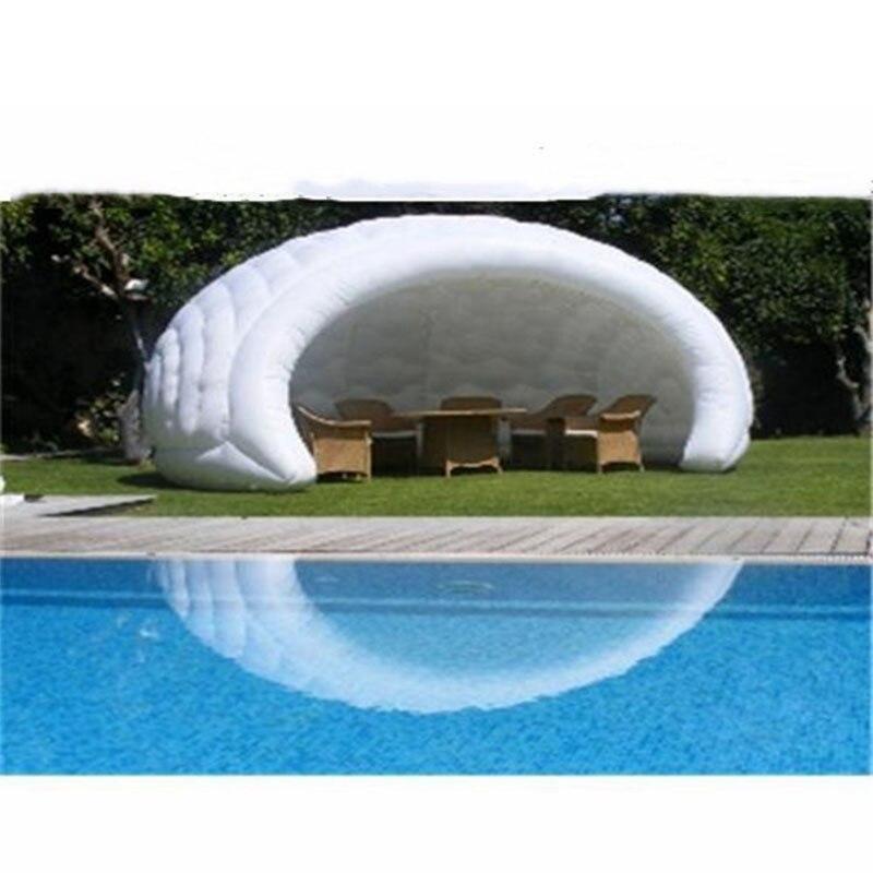 Tente de camping gonflable adaptée aux besoins du client de tentes de dôme