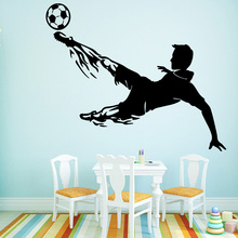 passionate paly football Wall Stickers Decorative Sticker House Decor Decals Decoration Waterproof Art Decal