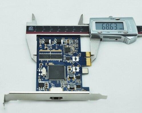 Carte DVR en temps réel 4, 8, 16, 32, 64 canaux, carte de capture vidéo PCI-E