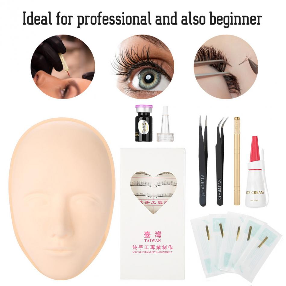 9a8469a5ebb Eyelashes Training Kit False Eyelash Extension Practice Tattoo ...