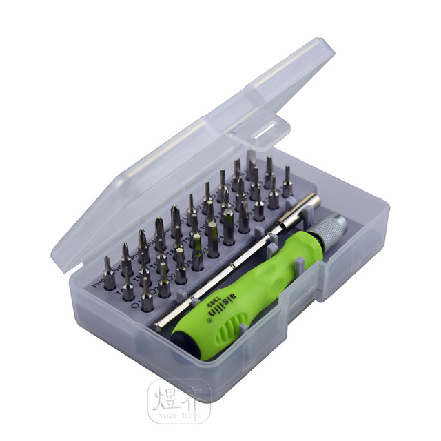 32 in 1 Precision Interchangeable Magnetic Screwdriver Set Mini Screwdriver Bits Repair Tools Kit Set 7389C hot selling
