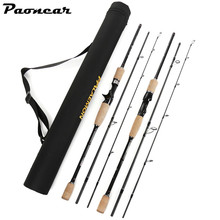 1.8M 2.1M 2.4M 2.7M 3.0M 3 Sections 12-25lbs  Saltwater&Freshwater M Power Carbon Spinning Casting Fishing Rod