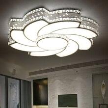 2017 Cristal Moderno Molino de viento LLEVÓ Las Luces de Techo Para El Dormitorio De Hierro Lámpara de Techo accesorios de Iluminación decoración del hogar Envío Gratis
