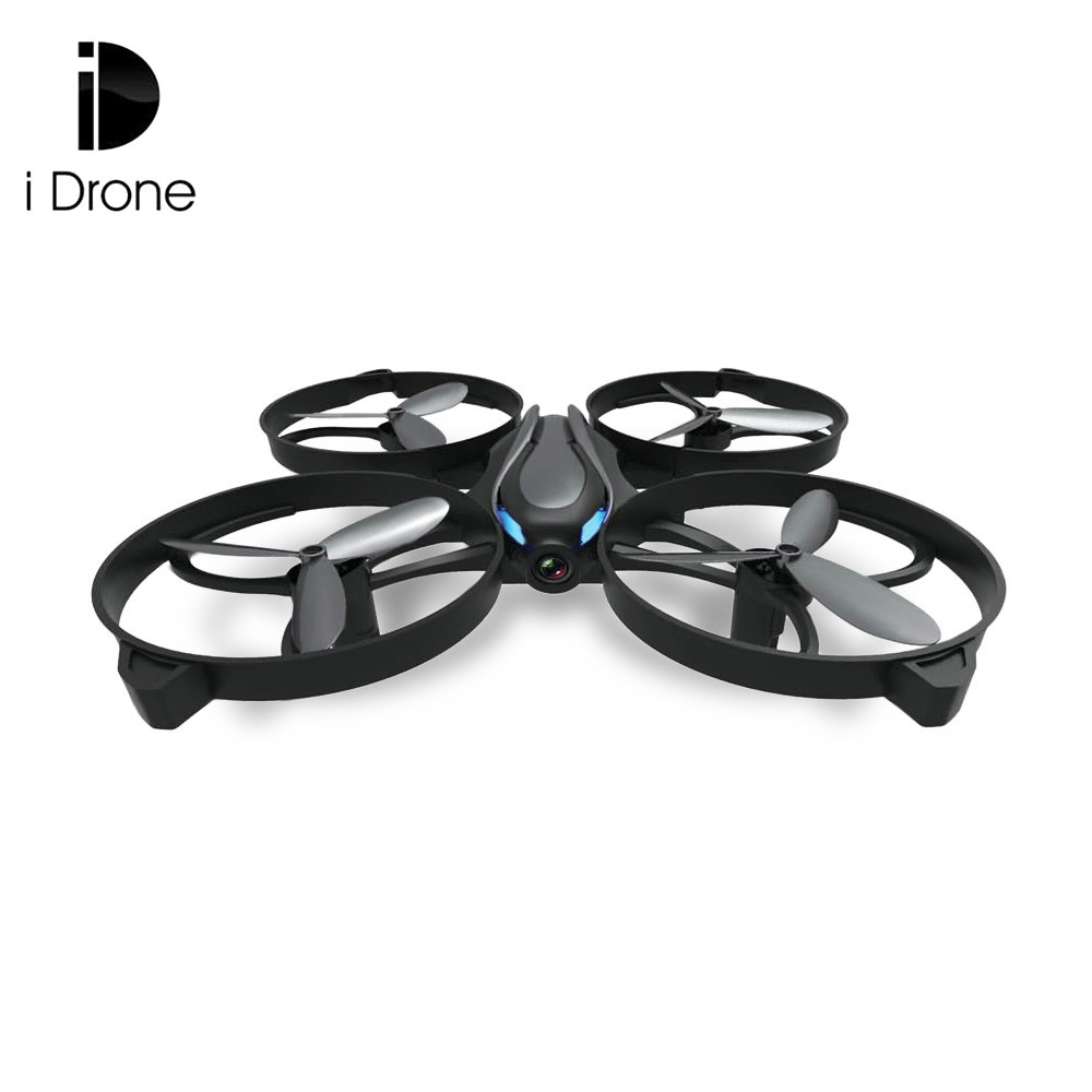 Mini RC Drone Dron 2.4GHz 4CH 6-axis Gyro Headless Mode Radio Control Drones One Key Return Flying Helicopter RTF Beginner Level цена 2017