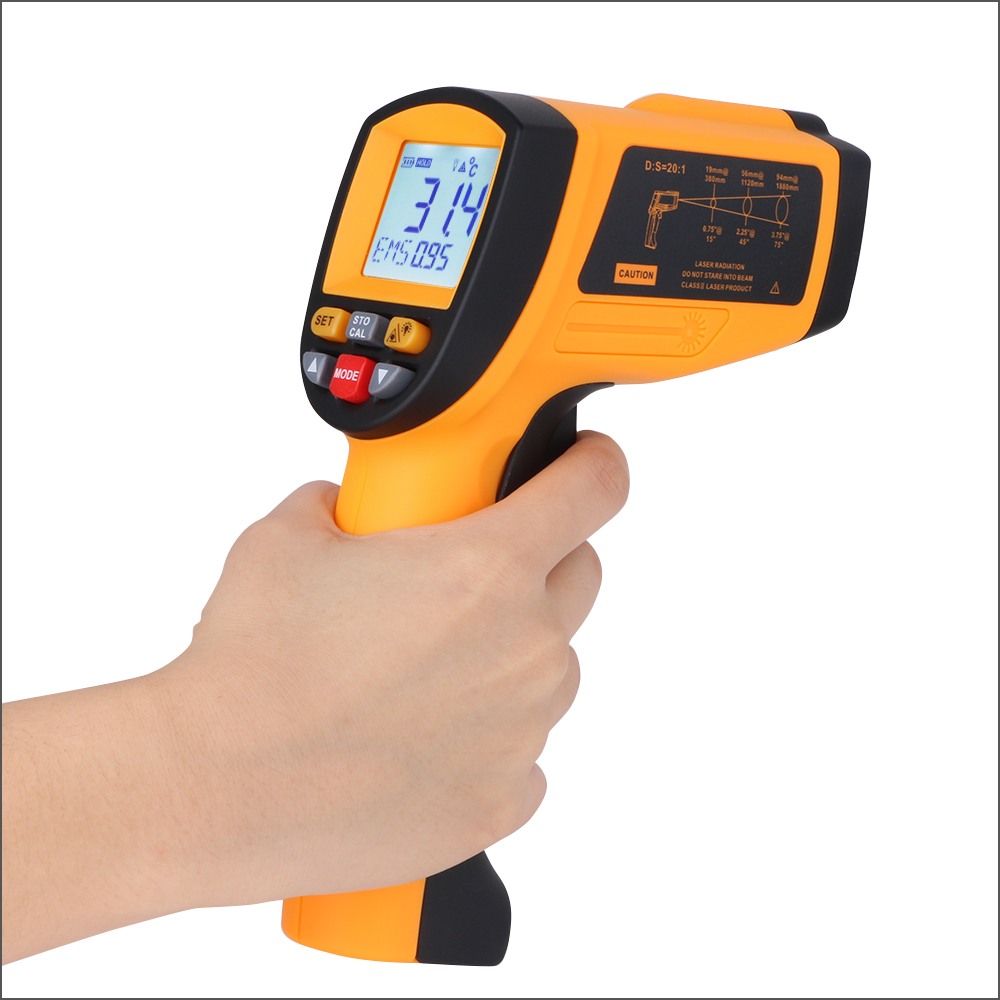 Image 5 - RZ Digital Handheld Gun Non Contact Infrared Thermometer Laser 