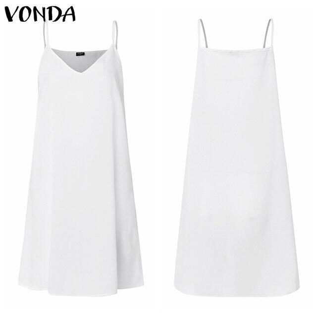 VONDA Holiday Lace Dress Bohemian Women Vintage Dot Print Hollow Floor-Length Dress 2019 Sexy Party Vestido Robe Femme Plus Size 4