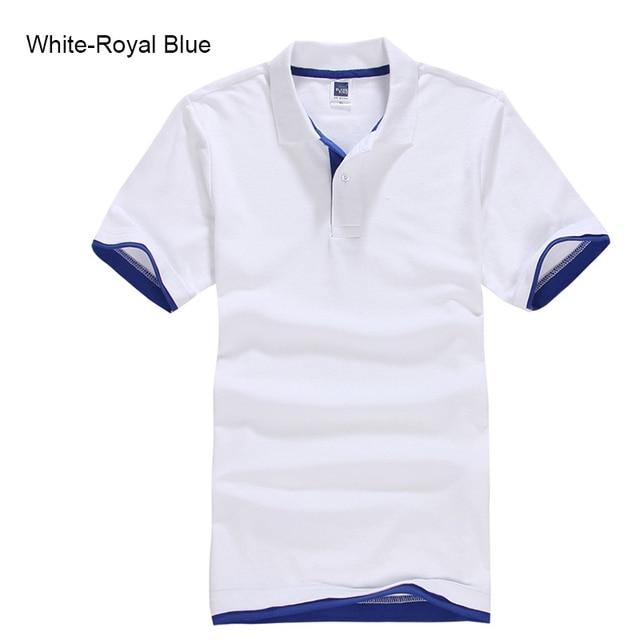 Plus Size XS-3XL Brand New Men's Polo Shirt High Quality Men Cotton Short Sleeve shirt Brands jerseys Summer Mens polo Shirts 1