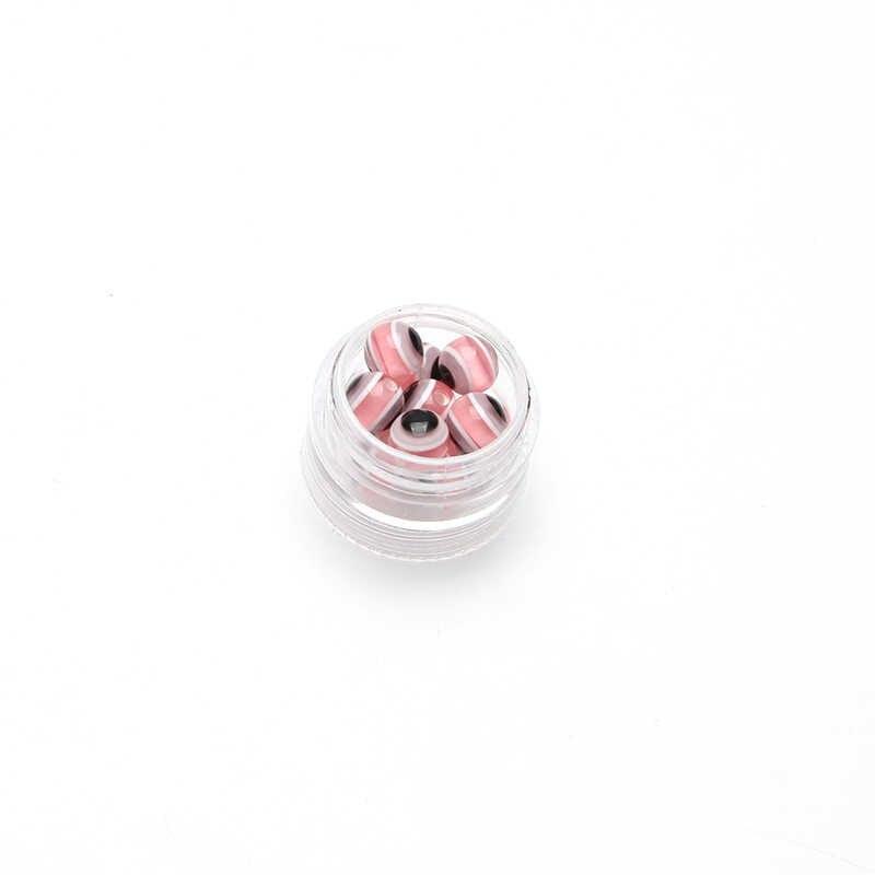 20 sztuk/partia szczęście turcja evil eye 8mm niebieski koraliki perforowane koraliki biżuteria akcesoria ustalenia dla kobiet diy zła przepaska na oko zakaz