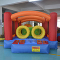DHL FRETE GRÁTIS Best selling pista de obstáculos bouncer casa do salto moonwalk inflável para as crianças