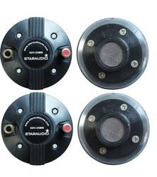 STARAUDIO 4Pcs 25MM 1000W 8 Ohms Titanium Compression Horn Replacement Speaker Driver Tweeters  SDV-25MM