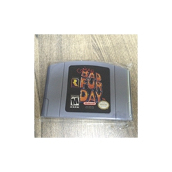 Conker's Conkers Bad Fur Day USA Version 64Bit Game Cartridge image