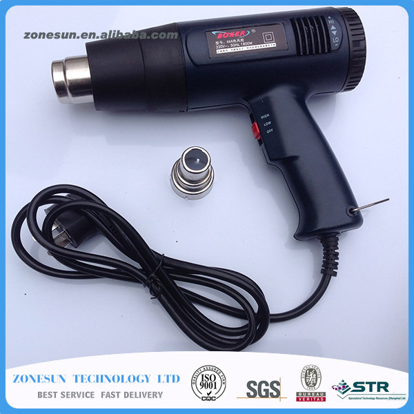 20 year's Manufacturing Experience Heat Shrink Gun Electrical Tools US Customized Temperature Adjustable