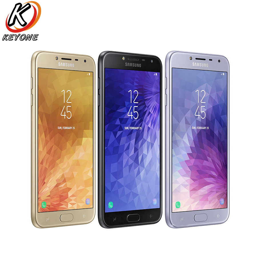 "Brand New Samsung Galaxy J4 J400F-DS 4G LTE Mobile Phone 5.5"" 2GB RAM 32GB ROM Quad Core Android 8.0 13MP 3000mAh CellPhone"