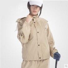 Гольф-Стиль burberry _ мужчины Женщины Пальто Дождя Брюки На Открытом Воздухе Куртка Водонепроницаемая Burbe rry Женщины Девушки Одежда Breathabe Мотоцикл