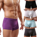 Bluelans Men's Modal Sexy U Convex Boxers Shorts Underwear Trunks Underpants L XL XXL