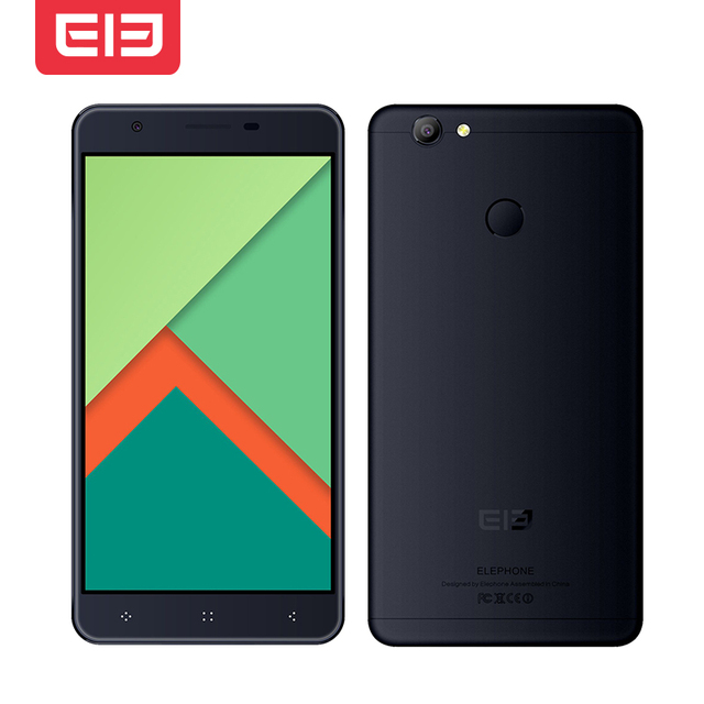 Original Elephone C1X 2GB RAM 16GB ROM MTK6737 Quad Core 5.5 Inch 2.5D HD Screen Touch ID Android 6.0 4G LTE Smartphone