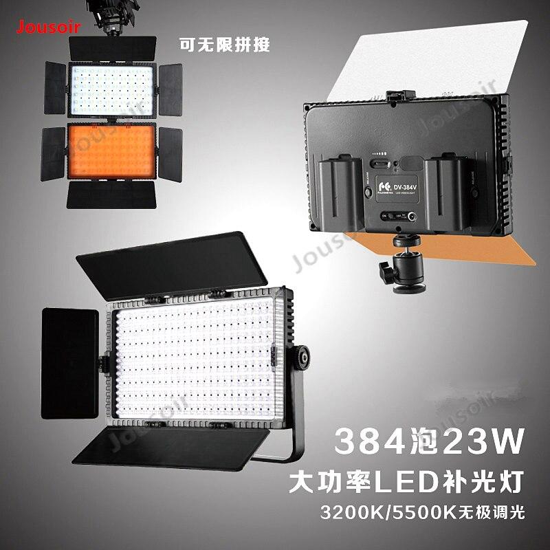 Falconeyes светодиодный светильник для камеры, лампа для освещения, Свадебный светильник, наружный светильник, телевизионная лампа DV 384V CD50 T03