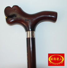 A family of beech wood crutches leading stick 100% wood wooden crutch mountaineering outdoor walking stick
