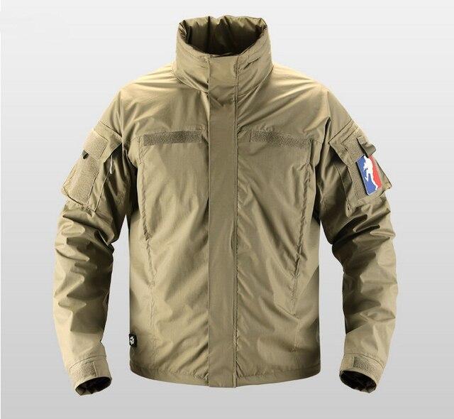 heren tactische waterdicht militaire jas camping wandelen soft