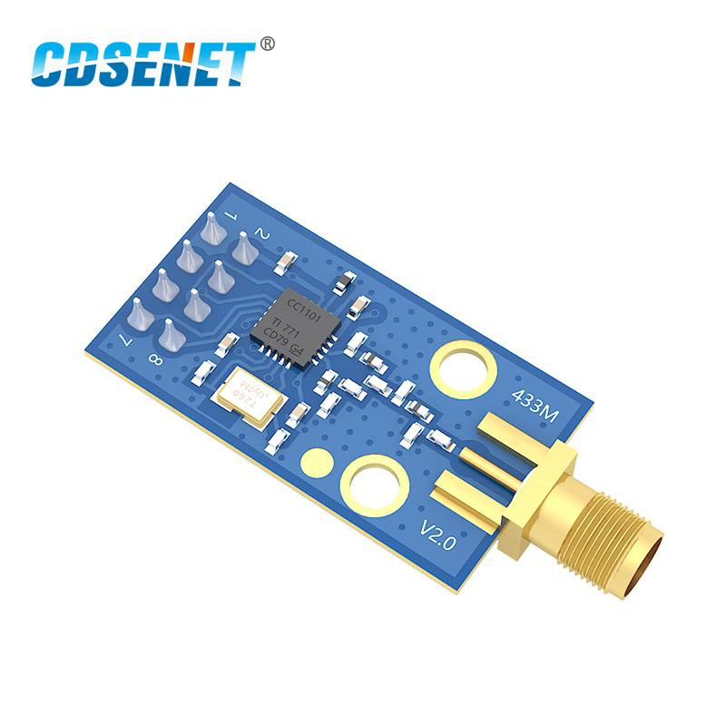 CC1101 433MHz Rf Module Transceiver CDSENET E07-M1101D-SMA Long Distance Transmission CC1101 433 MHz Receiver And Transmitter