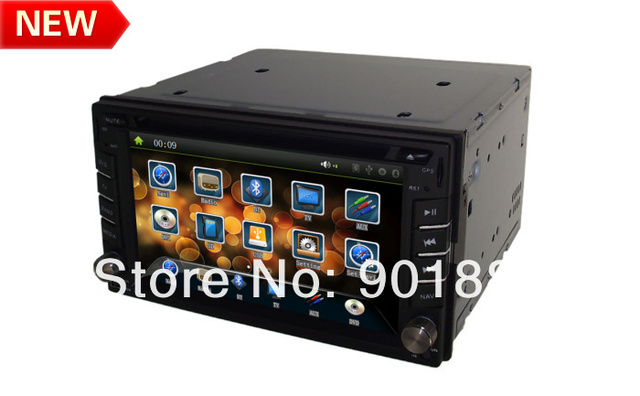 "2014 NEW 6.2"" double din car radio 800MHZ WINCE6.0 Map HD 1080P RDS Customization UI ATV Canbus I-Pod FM BT Multi-language OSD"