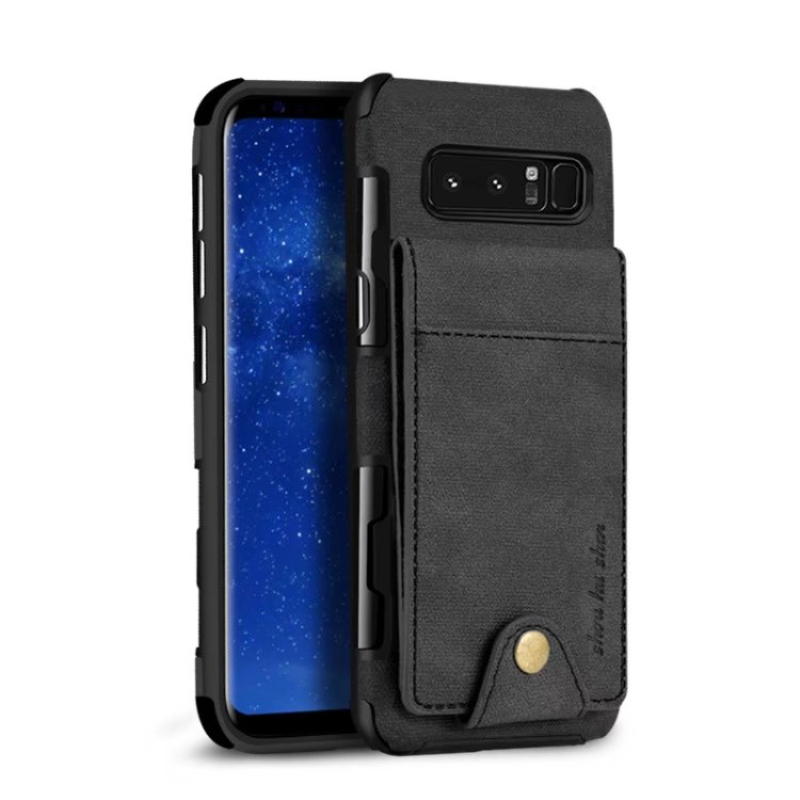 TANZ Luxury For Samsung Galaxy S8 S9 plus note8 note 8 Case Leather Cover For iphone 6 6s X 7 8 plus Wallet Phone Bag