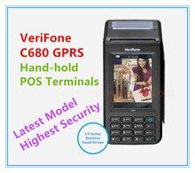 Remodelado Verifone C680 GPRS Terminais POS Mais Recente Modelo Da Mão-hold