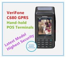 Rinnovato Verifone C680 GPRS Terminali POS Ultimo Modello A Mano-hold