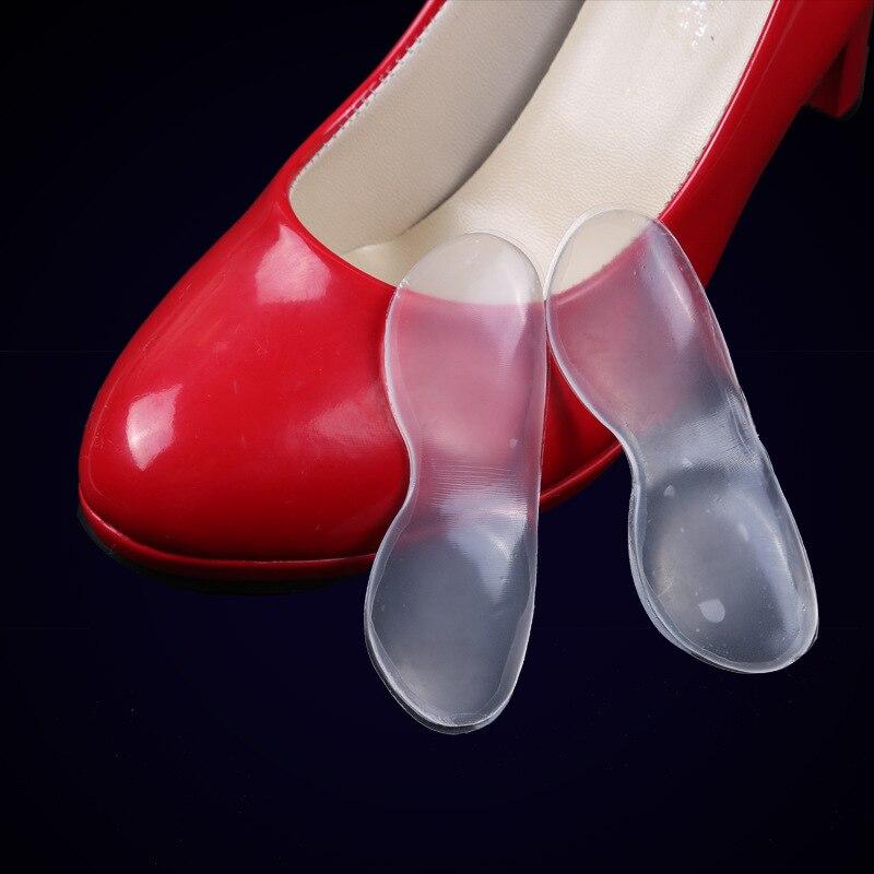 1 пара обуви Стельки Силиконовый гель пятки Подушки стопы Средства ухода за мотоциклом обуви колодки стопы боль стресса-30