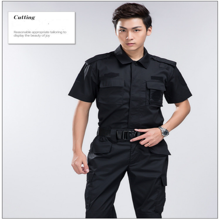 bf9891ae9c194 Outdoor Summer Mens Hunting Clothing Black Hawk Suits Military Training  Tactical Security Short Sleeved Sets Shirt+pants CS Sets-in Trainning    Exercise ...