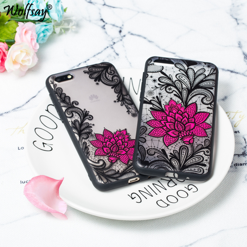 <font><b>3D</b></font> Flower Case On Huawei <font><b>Honor</b></font> <font><b>7A</b></font> Case 5.45