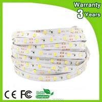 (4 шт./лот) 5 м 300 светодиоды smd3528 60leds/м 2 года гарантии Epistar 12 В Гибкая 3528 Светодиодные ленты RGB