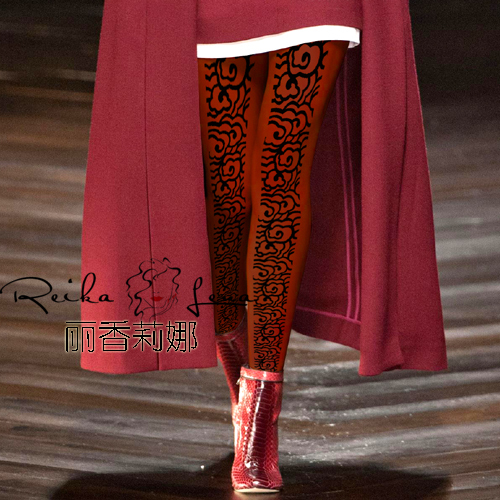 Stockings Print Top Cotton Polyester Fashion Special Offer Women Tights 2017 Show T Taiwan Ultra Thin Pantyhose Woman Printing