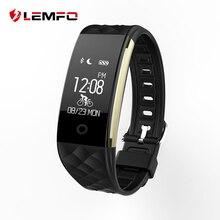 Оригинальный Lemfo S2 Bluetooth Smart Band Браслет Heart Rate Мониторы IP67 Водонепроницаемый SmartBand браслет для Android IOS Телефон