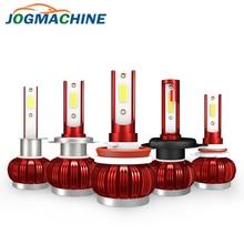 Автомобильный светодиодный H7 светодиодные лампы для Авто Canbus H1 H11 H8 HB4 H9 9005 9006 Авто лампы для передних фар 72W фары для 8000LM 6000K светодиодный светильник COB зажим для помощи при парковке
