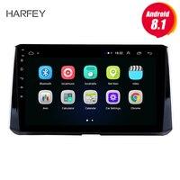 Harfey автомобильный мультимедийный плеер 10,1 Android 8,1 для 2019 Toyota Corolla головное устройство с радио gps навигационная система Поддержка 3g Wifi SWC