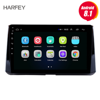 Harfey 10.1 Android 8.1 GPS Navi autoradio car multimedia player for Toyota Corolla 2019 Head unit Radio Support 3G Wifi SWC