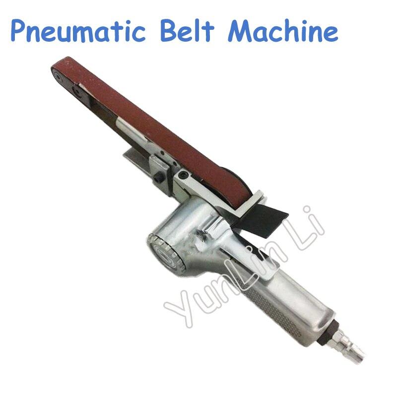 520*20mm pneumatique ponceuse à bande pneumatique sable ceinture rectifieuse pneumatique Angle meuleuse ceinture Machine polissage Machine