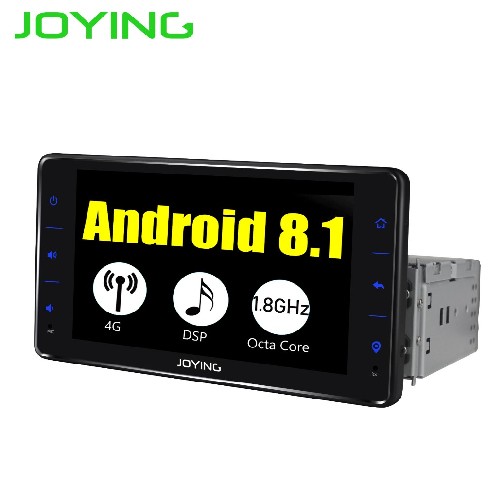 joying 1 din car android 8 1 stereo radio with. Black Bedroom Furniture Sets. Home Design Ideas
