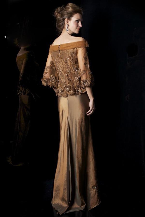 Bronze Dresses For Brides Mother